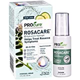 PROcure Rosacare Gel, 2 oz, Medicated skincare treats redness; Hyalurnoic Acid, redness reducing