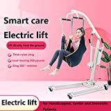XUE Elevación Paciente eléctrica portátil hidráulico de elevación de Apertura Cuerpo Base Baja para Uso doméstico 330lb.