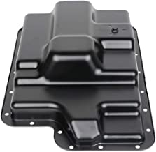 TUPARTS Engine Oil Pan for Ford E-150 E-350 F-250 F-350 Super Duty 03 04 05 06 07 08 Engine Oil Drain Pan 4.6L 5.4L 6.0L 6.4L 6.8L 7.3L with OE 265-822 Oil Drip Pan Oil Change Pan