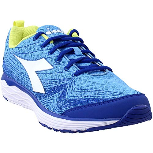 Diadora Womens Flamingo Running Sneakers Shoes - Blue - Size 9.5 B