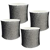 PIGUOAT 4 Packs Filters for HWF64 Humidifier, Replacement Humidifier Wick Filters Compatible with Holmes Sunbeam Bionaire Humidifier Model HWF64CS HM1730 HM1745 HM1746 HM1750 HM2200 - Filter B