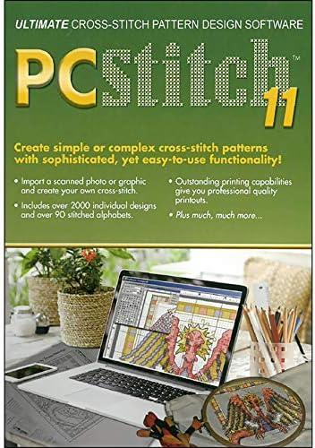 PC Stitch Pro Cross Stitch Software Version 11 Fabric product image