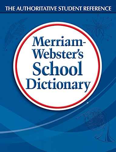 Merriam Webster 80 School Dictionary, Grades 9-11, Hardcover, 1,280 Pages (MER80)
