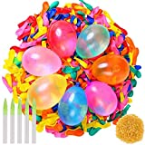 BESTZY Water Balloons Refill Quick & Easy Kit,1000 Pack Water Bomb Balloons Fight Games,Summer Splash Fun for Kids and Adults