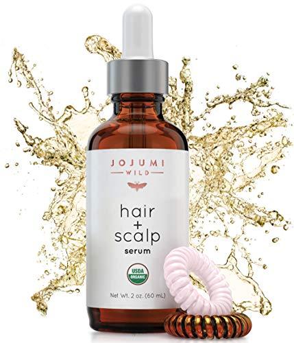 Price comparison product image Jojumi Wild Organic Hair,  Face,  Scalp,  Skin,  Cuticle and Nail Care Treatment Serum with Argan,  Castor,  and Jojoba Oil (2 oz.)