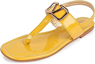 MYRA Women's Sling-back Flat Sandals - MS1338C
