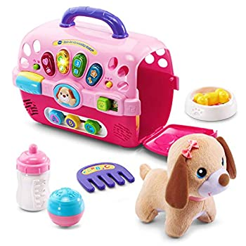 VTech Care for Me Learning Carrier Pink