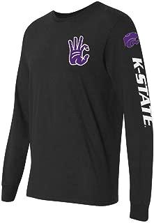 Root Sportswear Kansas State University K-State Wildcats WC Hand Sign Sleeve Runner Long Sleeve Shirt