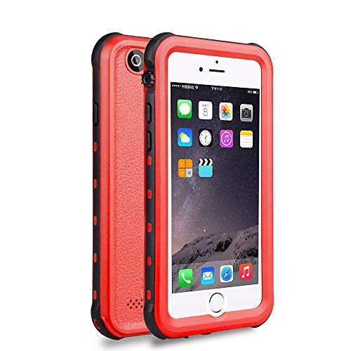 Red Pepper For iPhone 6 6s Waterproof Case Shell, Dust Proof, Snow Proof, Shock Proof Case with Touched finger print function Red 4.7 inch