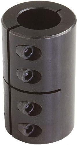 "high quality 1 popular Piece Clamp 1/2"" x 5/8"" Bore Dia. Steel Rigid Shaft lowest Coupling online sale"