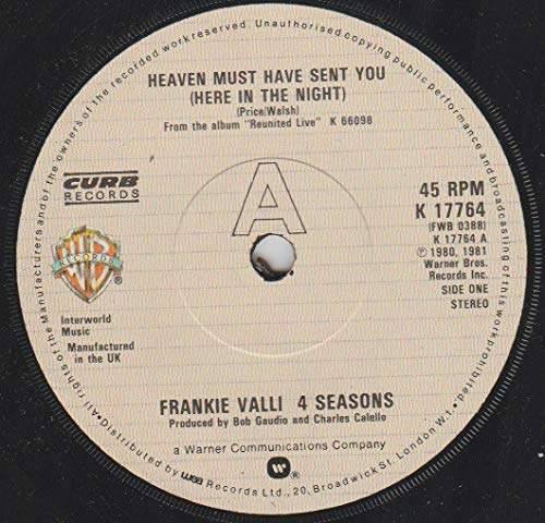 Heaven Must Have Sent You (Here In The Night) - Frankie Valli - Four Seasons 7