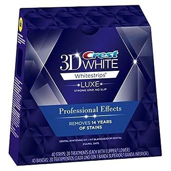 Crest 3D Whitestrips Professional Whitening Kit  60 Treatments