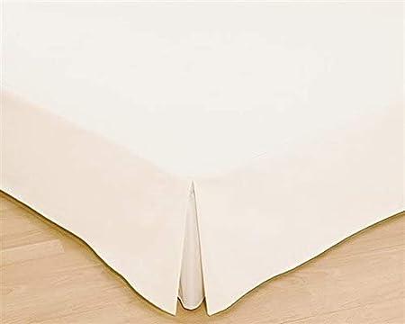 Colcha, colchón para cama, disponible en diferentes tamaños en color cáscara de huevo, tela, crudo, Bett 135 cm