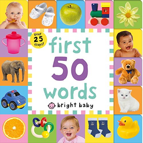 Lift-The-Flap Tab: First 50 Words (Lift-The-Flap Tab Books)