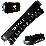 Cepillo para la Barba | Cerdas de Jabalí de Primera Calidad | La Mejor Herramienta para el Cuidado de la Barba| Forma, Estilizar y Desenredar Fácilmente | Usado con Aceites, Bálsamos y Ceras