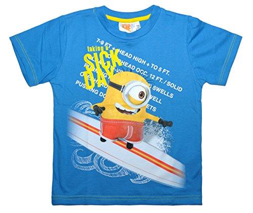 MINIONS de 2,99 € oficial Despicable ME 2 camiseta de manga corta para niños y niñas