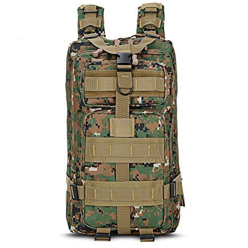 CGMZN Sac à Dos Sac à Dos en Plein air de Camouflage 25L Camping Randonnée Sac à Dos Trekking Sac de Voyage 5 Couleurs