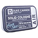 Duke Cannon Men's Solid Cologne, 1.5oz. - Air (Open Skies Scent)
