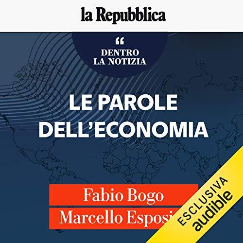 Couverture de Le parole dell'economia