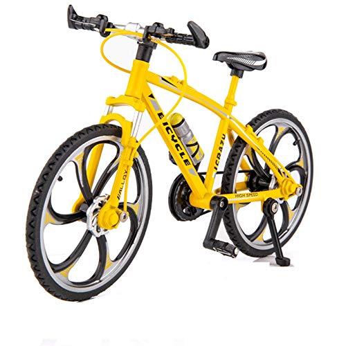 Modelo de Coche de aleación 1:10 Modelo De Bicicleta De Aleación Mensaje Metal Metal Toy Simulación De Bicicleta Mountain Bike Racing Niños Bicicletas Colección Regalo (Color : 9)