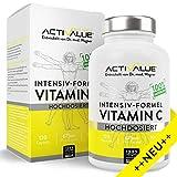 INTENSIV-Formel Vitamin C - von Dr.med. Wagner - 600mg natürliches Vitamin C - aus den Superfoods Camu-Camu und Acerola - 120 Kapseln, hoch bioverfügbar, hergestellt in Deutschland