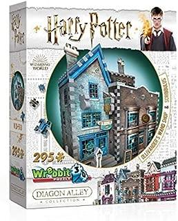 Wrebbit 3D - Harry Potter Ollivander's Wand Shop and Scribbulus 3D Jigsaw Puzzle - 295 Pieces