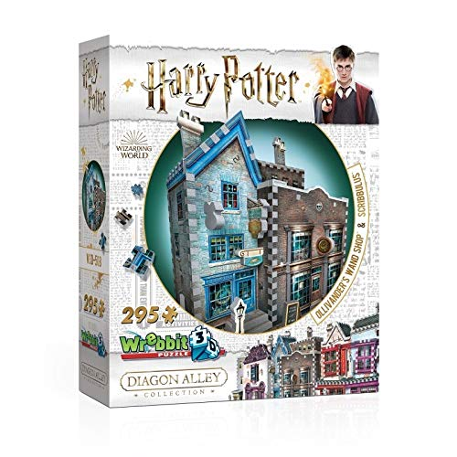 Wrebbit 3D Puzzle Harry Potter Ollivander's Wand Shop