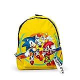 LINGJIA Produits ménagers soniques Enfants École Sac À Dos Sonic The Hedgehog Kids School Bags Cartoon Animal Design Adolescents Livre-Sacs