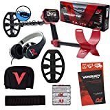 "Minelab Vanquish 440 Metal Detector with V10 10"" x 7"" Double-D Waterproof Coil"
