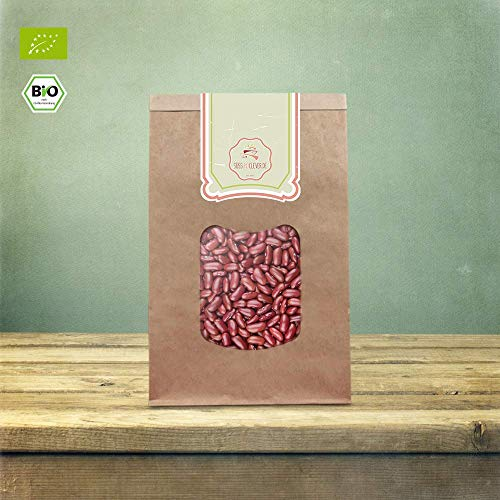 süssundclever.de® Bio Kidneybohnen | rot | 2 x 1 kg | unbehandelt | plastikfrei und ökologisch-nachhaltig abgepackt