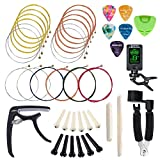 Best Acoustic Guitars Strings - SUNYIN Guitar Strings Replace Tool Kit,3 sets of Review