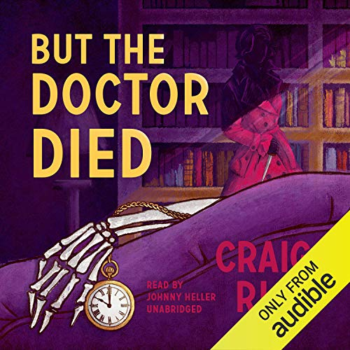 But the Doctor Died cover art