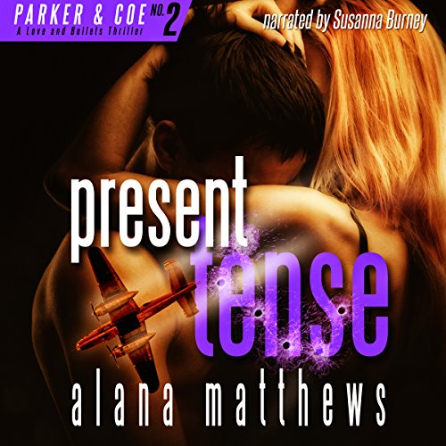 Present Tense audiobook cover art