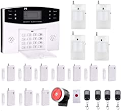 Ag-security High efficiency security system 99+8 zone Automatic alarm GSM SMS Home Burglar Security Wireless Gsm Alarm System Detector Sensor Kit Remote Control