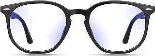 Baytion Blue Light Filter Eyewear for Men & Women, Anti Glare Anti Eyestrain UV Blocking, Computer & Gaming Glasses,Black