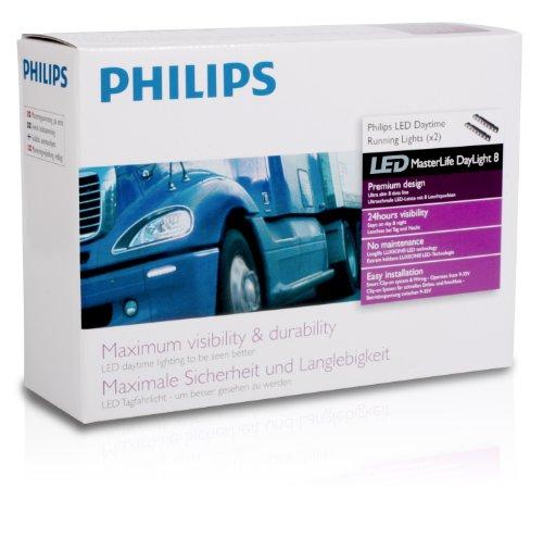 Philips 24824WLEDX1 LED Tagfahrlicht MasterLife Daylight8 für LKW/Nutzfahrzeuge