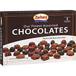 Zachary Fine Assorted Chocolates, 48 oz