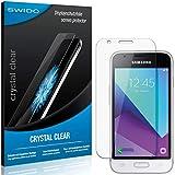 2 x SWIDO® Protector de pantalla Samsung Galaxy J1 Mini Prime Protectores de pantalla de película 'CrystalClear' invisible