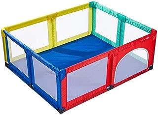 Color: Azul, 120 x 120 x 70 cm 3 Colores ZHUIL-Baby playpens Vallado for beb/és Infantil de Interior Juego de cercado Malla de Juegos for ni/ños con Puerta Actividad de Juego Entre Padres e Hijos