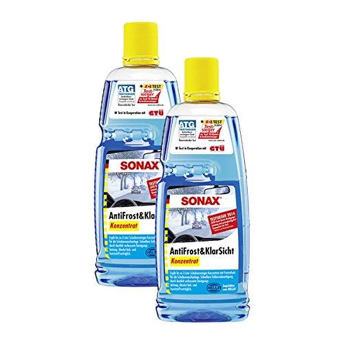 SONAX 2X 03323000 AntiFrost & KlarSicht Konzentrat 1L