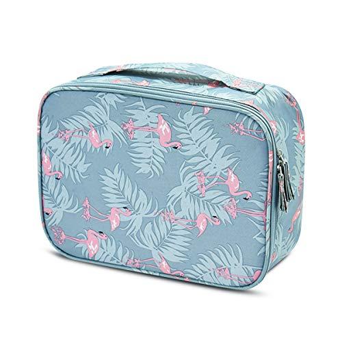 Sacs cosmétique de Vockvic, Imperméable Portatifs Toiletry Bag de Voyage avec Poignée, Multifonction Cosmétique Sac Organisateur Les Femmes, Fille