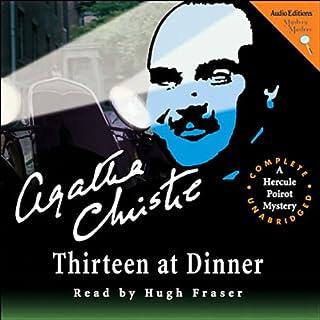 Thirteen at Dinner audiobook cover art