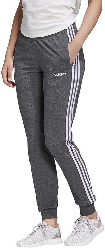 Amazon.com: adidas Women's Essentials 3-Stripes Single Jersey ...