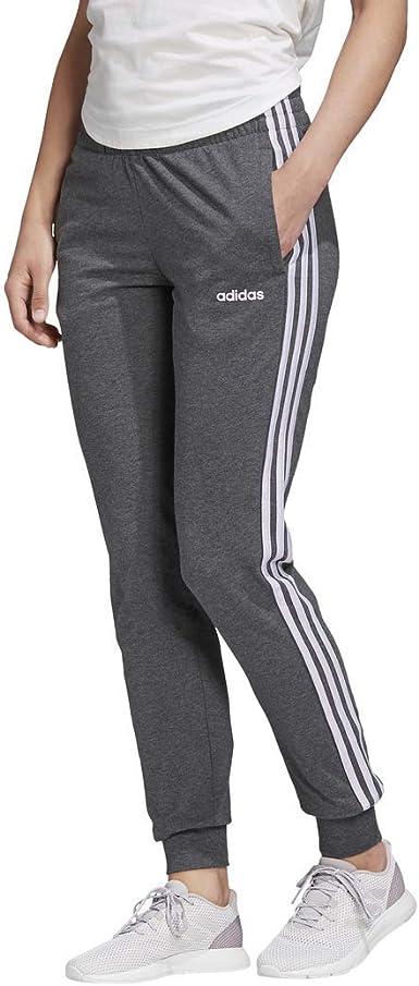 adidas Women's Essentials 3-Stripes Single Jersey Joggers