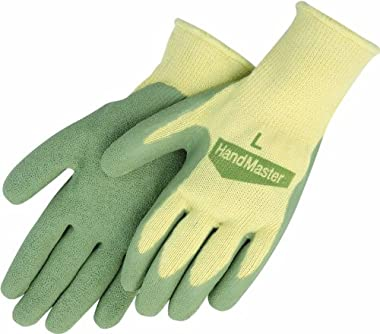 Magid G316T Simply Pastel Flexible Fit Latex Palm Gardening Glove for Women, Large