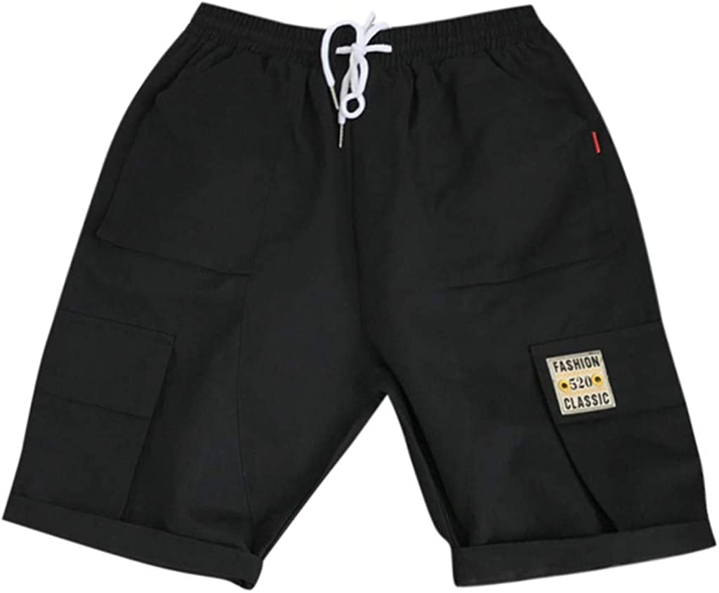 Cardigo Men Casual Outdoors Pocket Work Trousers Beach Baggy Shorts Pants