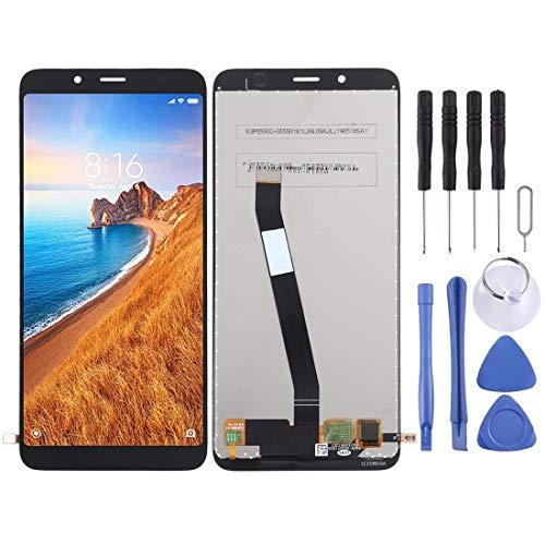 LCD-Display und Digitizer Vollversammlung for Xiaomi for Redmi 7A(Schwarz) Q, Ersatz-Ersatzteile von HZZSTD (Color : Black)