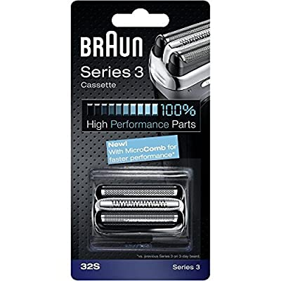BRAUN 32S Series 3 Shaver Foil and Cutter Head Replacement Cassette by Braun by Braun