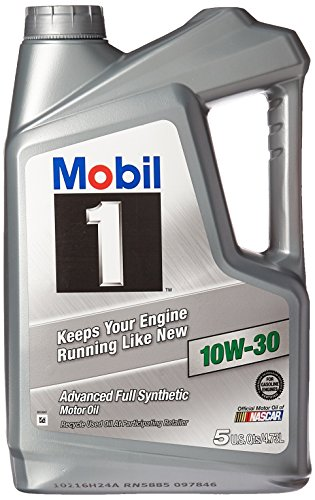 10w30 Synthetic Oil 5 Qt Bottle