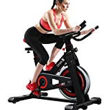 <span class='highlight'><span class='highlight'>Dripex</span></span> Upright Exercise Bikes (Indoor Studio Cycles) - Studio Quality with Heart Rate Monitor, Large Bidirectional Flywheel, Belt Drive, Infinite Resistance, LCD Displays, Hand Pulse¡¾2020 Model,932¡¿